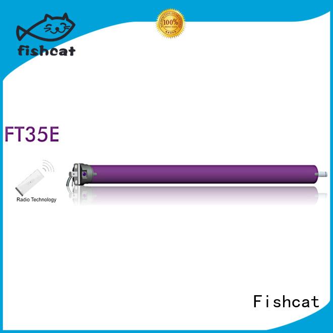 Fishcat good quality ac tubular motor instructions factory projector screen