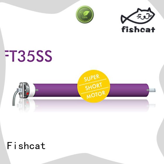 Fishcat roller shutter motor satisfying for roller blinds