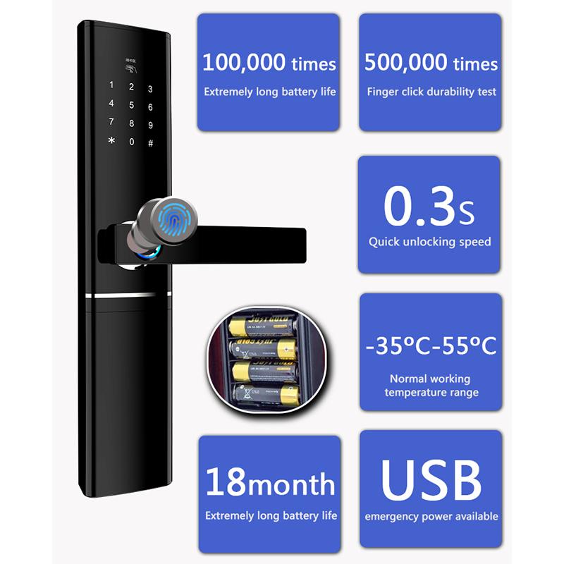 product-Smart Digital Door Lock AC-D8ZM-Fishcat-img-1