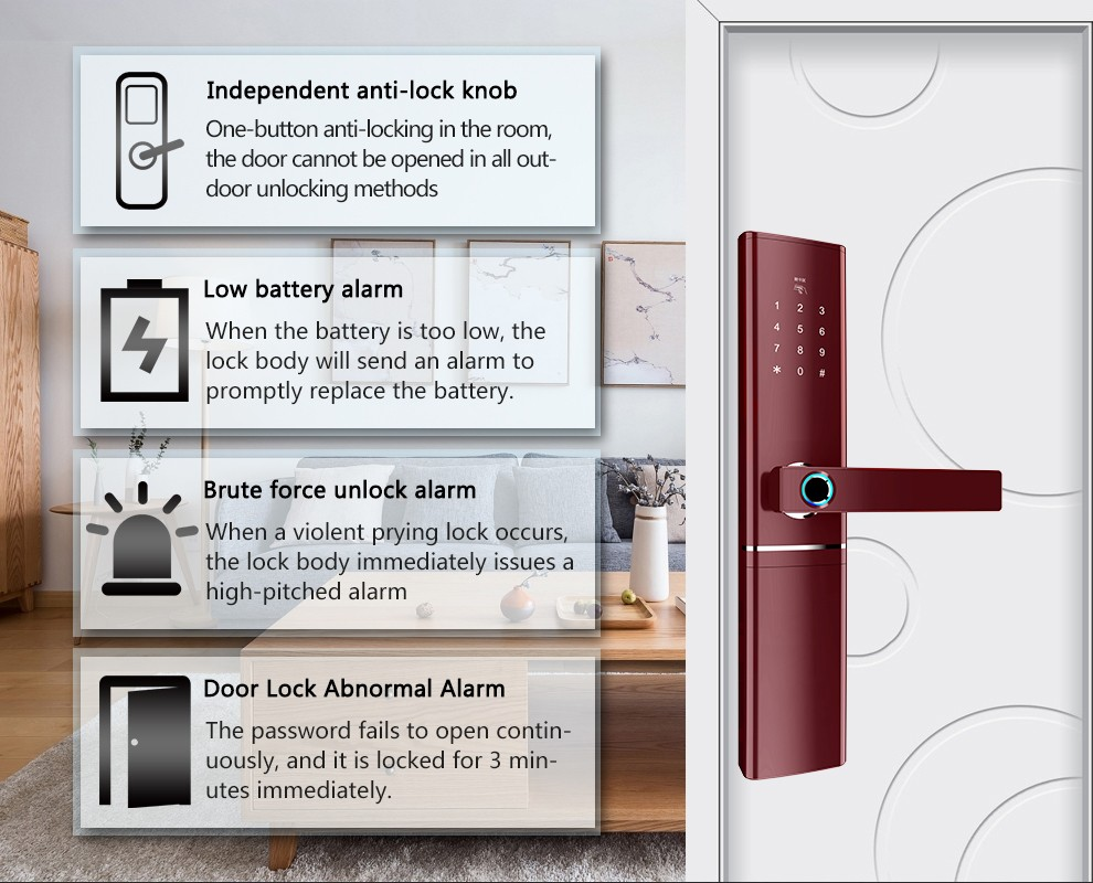 product-Fishcat-Smart door lock Bluetooth series-img