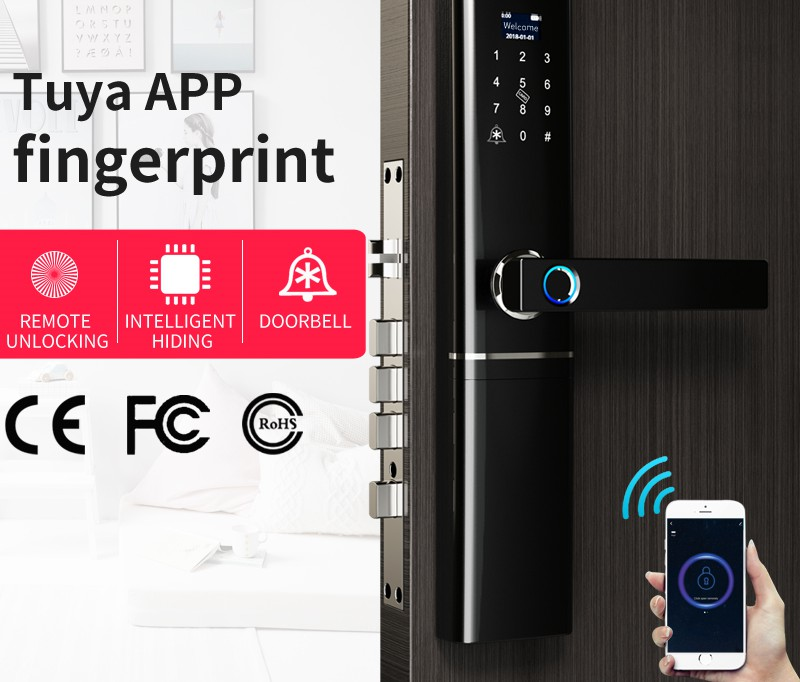 product-Smart door lock Bluetooth series-Fishcat-img