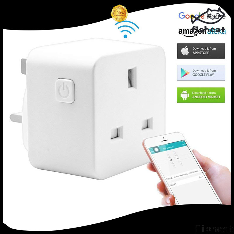 Fishcat custom iot outlet very useful for electrical appliances