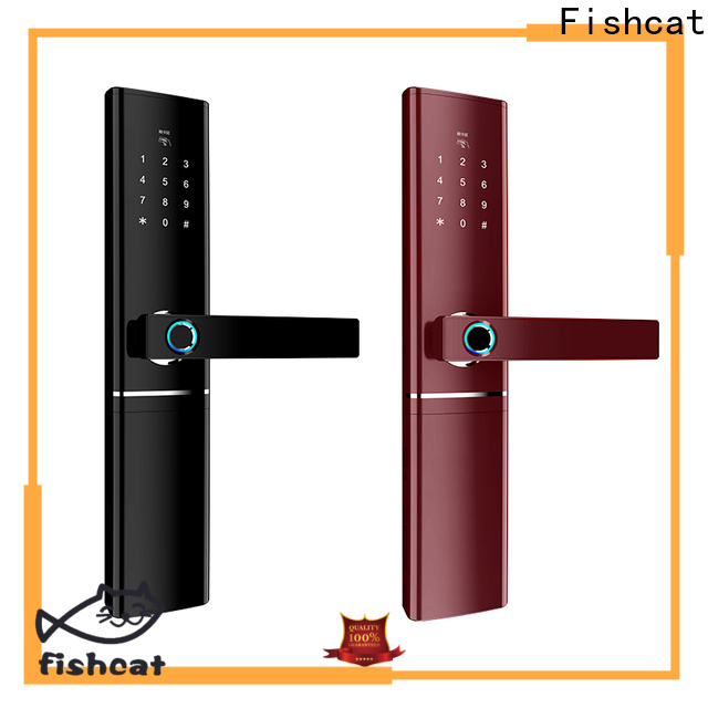 Fishcat security door locks manufacturer smart home