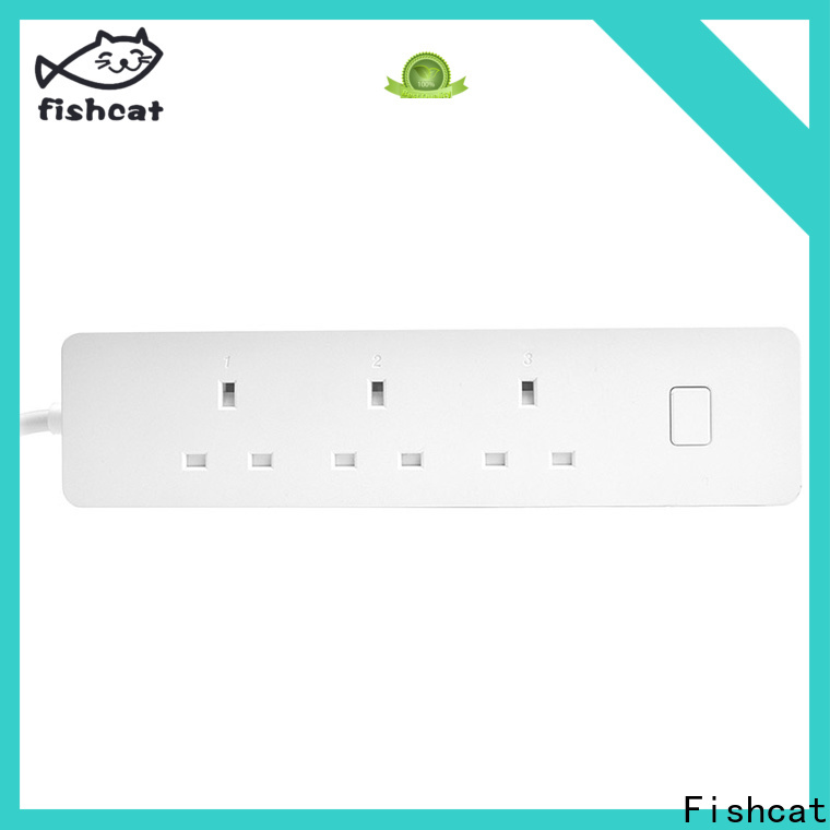 Fishcat wifi power strip widely applied for smart home