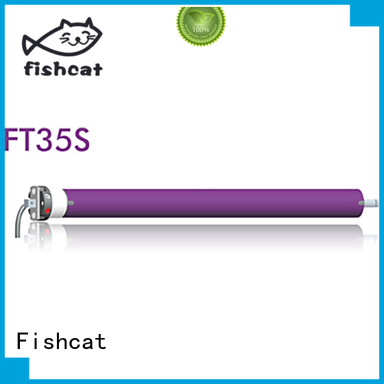 Fishcat tubular motor manufacturers ideal for projector screen