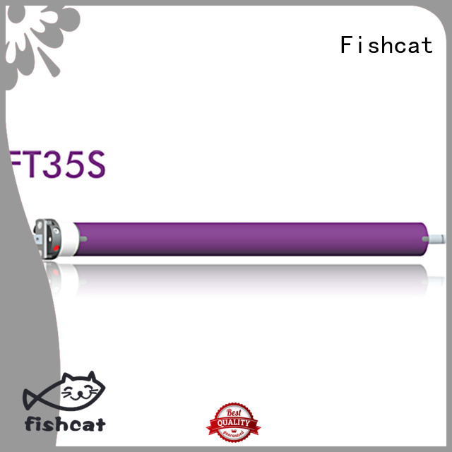 Fishcat good quality motor lineal tubular projector screen
