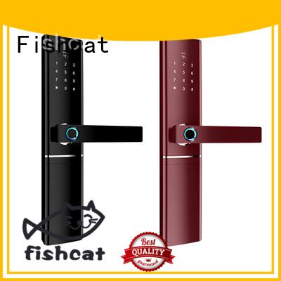Fishcat smart home door lock factory smart home