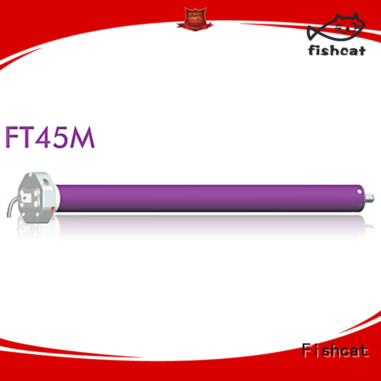Fishcat tubular motor suppliers widely used for clothes pole