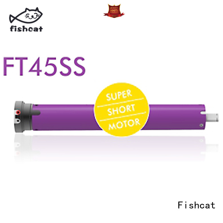 Fishcat convenient tubular motor suppliers perfect for roller blinds