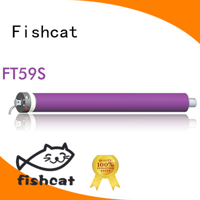 Fishcat tube motors suppliers widely applied for roller blinds
