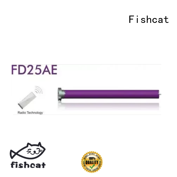 Fishcat advanced technology projector screen motor widely applied for roller blinds