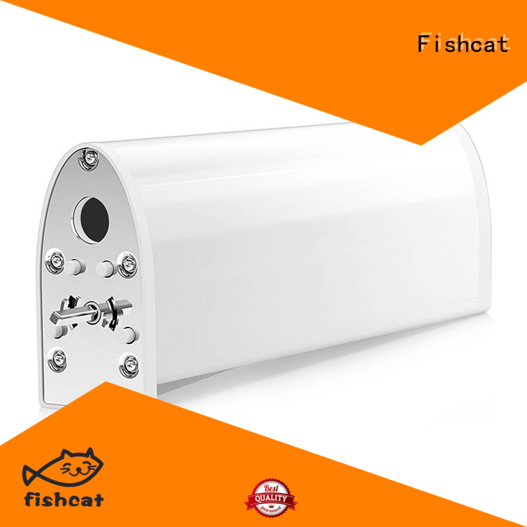 Fishcat adjustable speed electric curtain motor suitable for smart home system