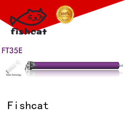 Fishcat advanced technology tube motors projector screen