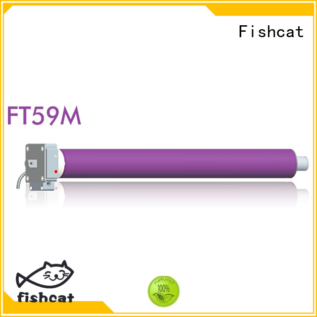 Fishcat roller shutter motor suppliers satisfying for clothes pole