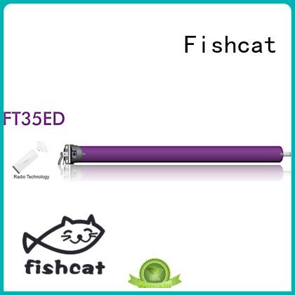 Fishcat bulk purchase dc tubular motor manufacturer projector screen