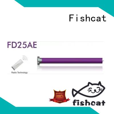 Fishcat good quality tubular motor china satisfying for projector screen