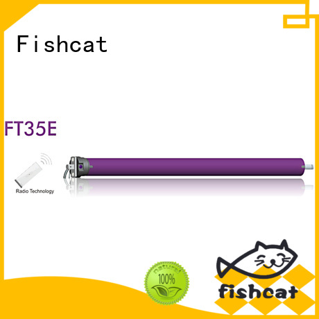 Fishcat tubular motor manufacturer widely used for projector screen