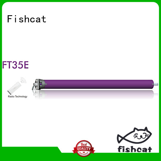 Fishcat convenient tubular motor suppliers widely applied for roller shutter