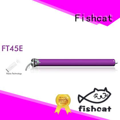 Fishcat tubular electric motor optimal for roller door