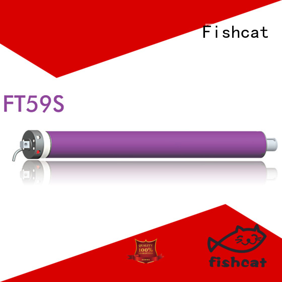Fishcat good quality tubular electric motor widely used for roller shutter