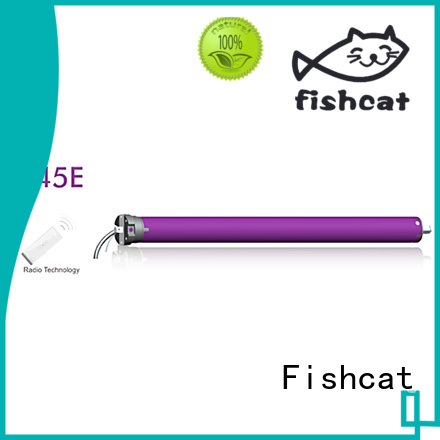 Fishcat tubular motor specification roller blinds