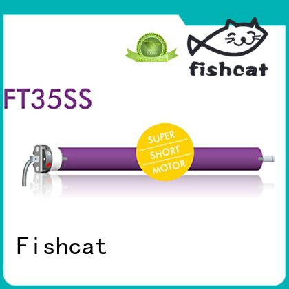 Fishcat tube motors widely used for roller blinds