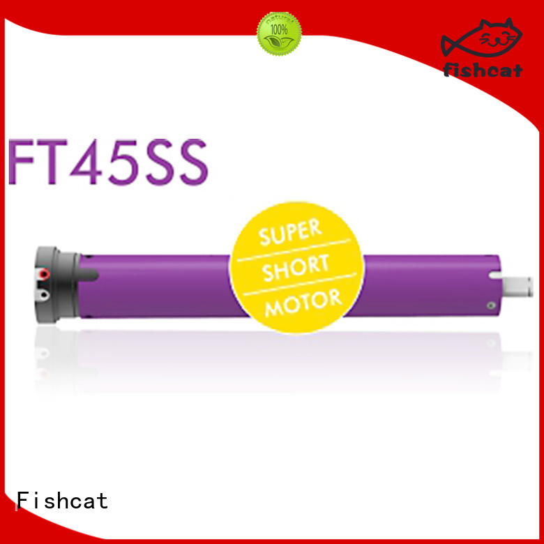 Fishcat good quality tubular motor china satisfying for roller shutter