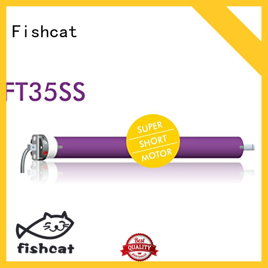 Fishcat advanced technology Motorized Roller Blinds widely used for roller door