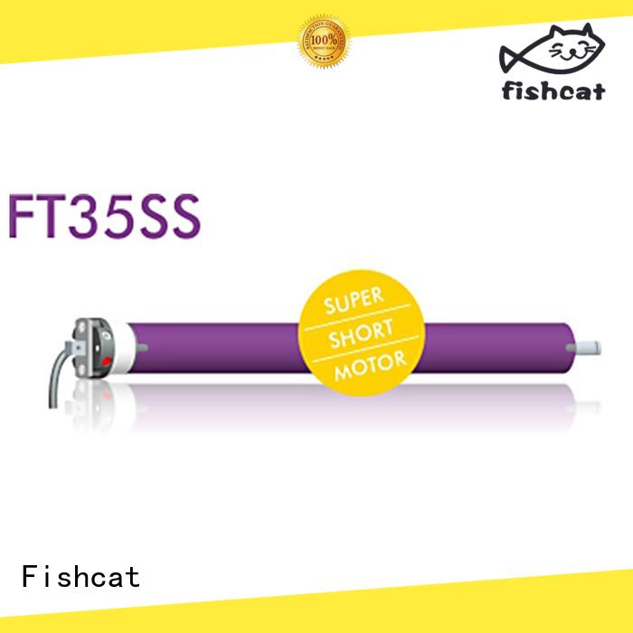 Fishcat roller shutter door motor suppliers optimal for roller blinds