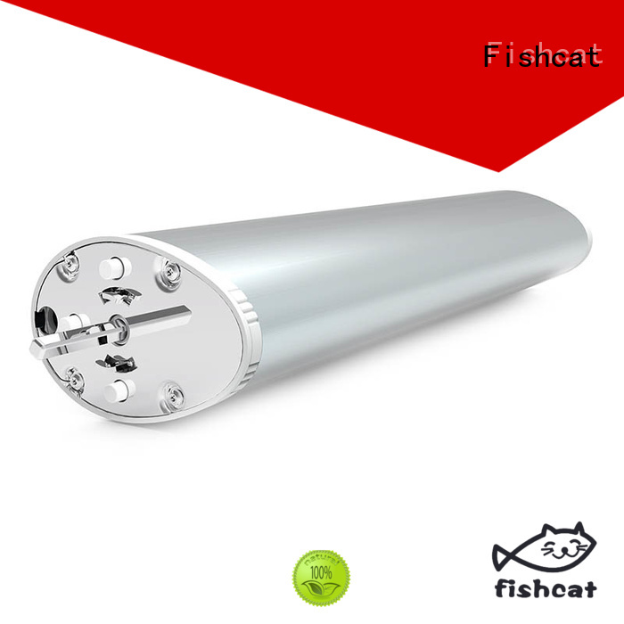 Fishcat intelligent motorized drapery track suitable for home automation control
