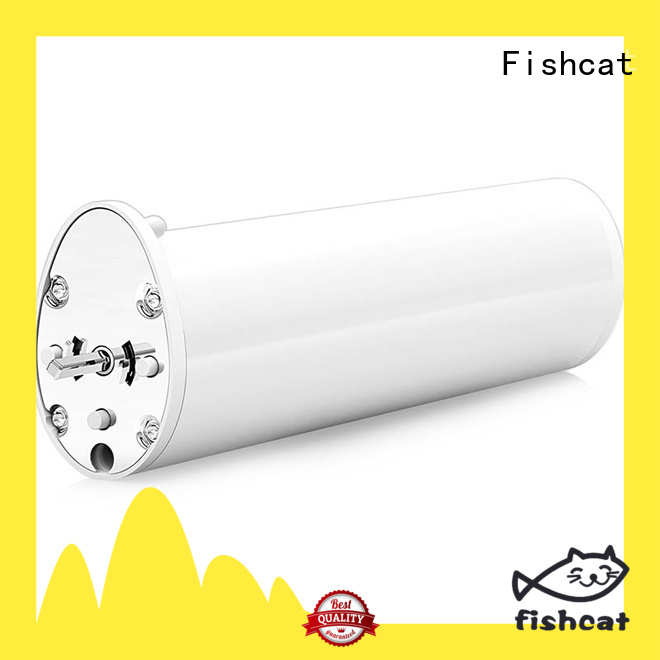 Fishcat adjustable speed motorized curtain rods remote control ideal for home automation