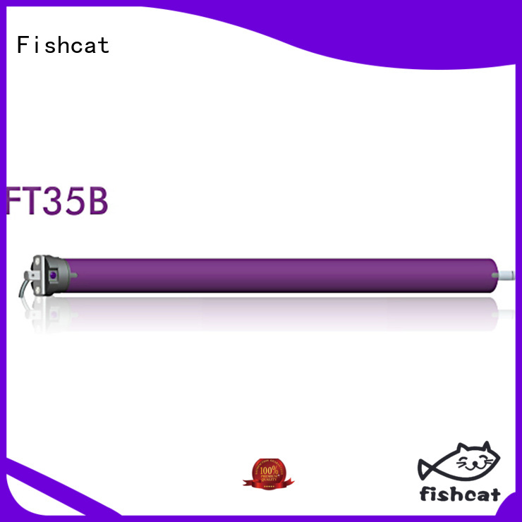 Fishcat Motorized Roller Blinds perfect for clothes pole