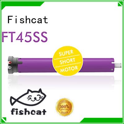 Fishcat economical tubular electric motor projector screen