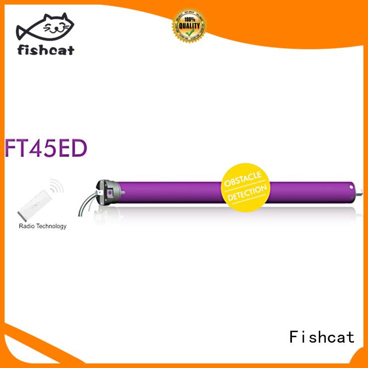 Fishcat tubular blind motor widely applied for awning