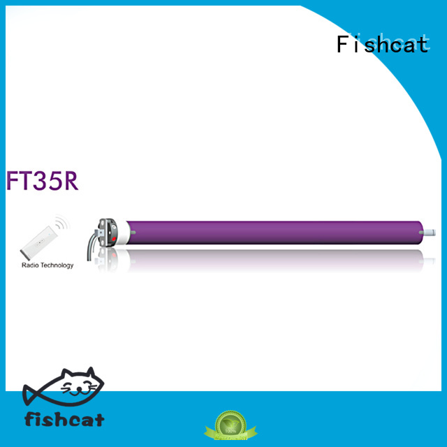 Fishcat tube motor widely applied for roller door