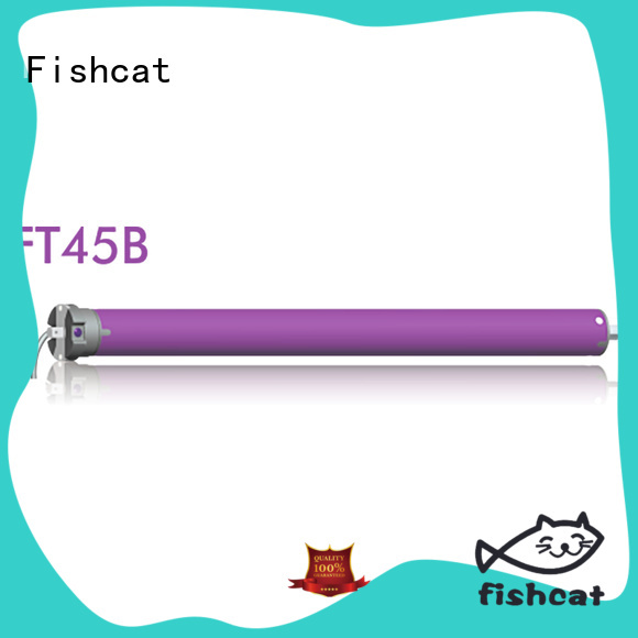 Fishcat motor tubular optimal for roller blinds