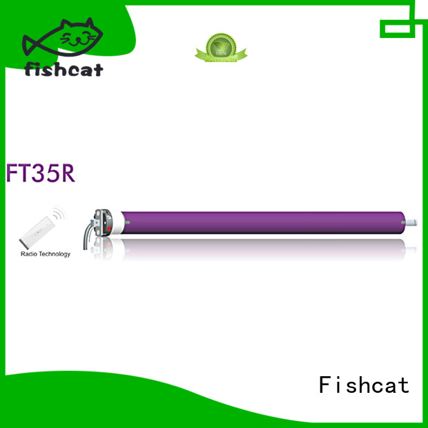 Fishcat cost saving tubular motor for projection screen widely applied for projector screen