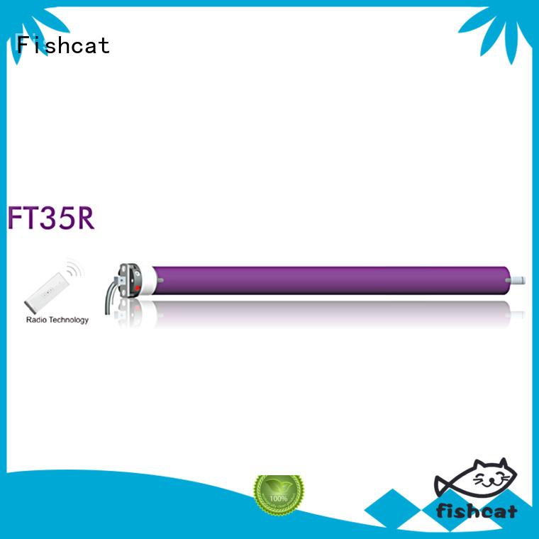Fishcat Motorized Roller Blinds satisfying for roller shutter