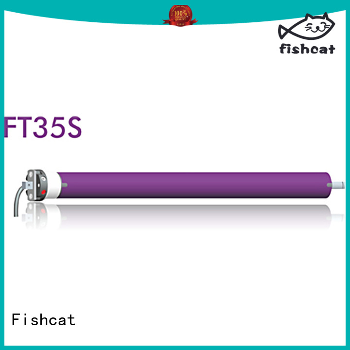 Fishcat awning motor optimal for roller blinds