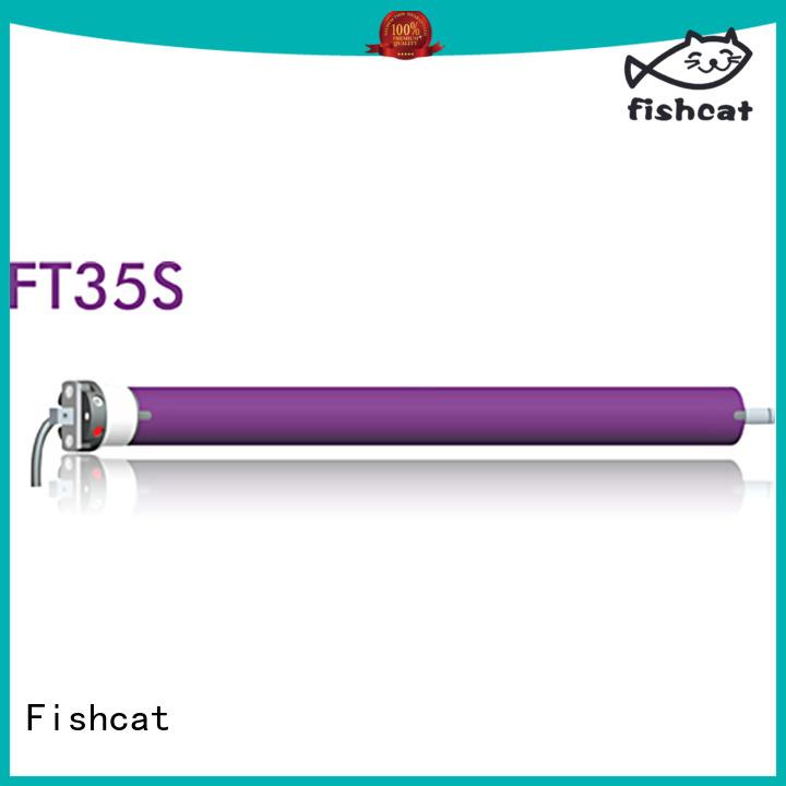 Fishcat awning motor optimal for roller blinds