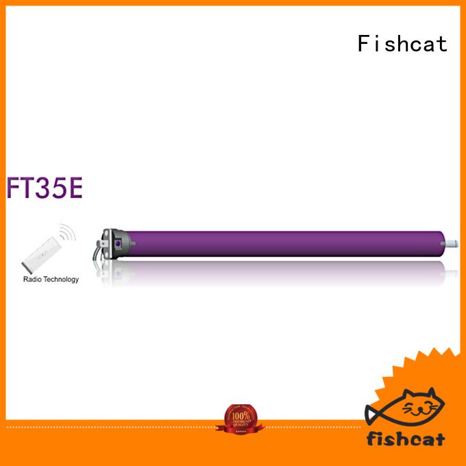 Fishcat economical roller shutter door motor perfect for roller blinds