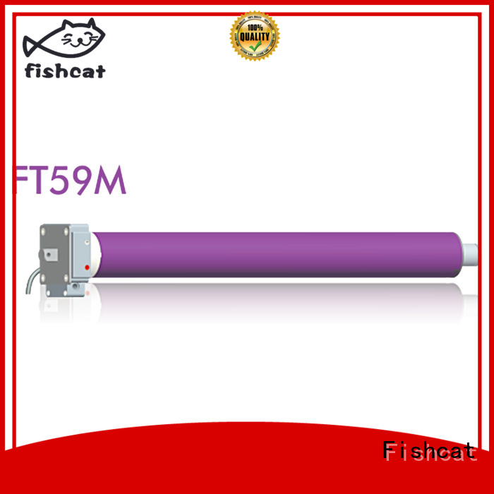 Fishcat convenient tube motors widely used for roller door
