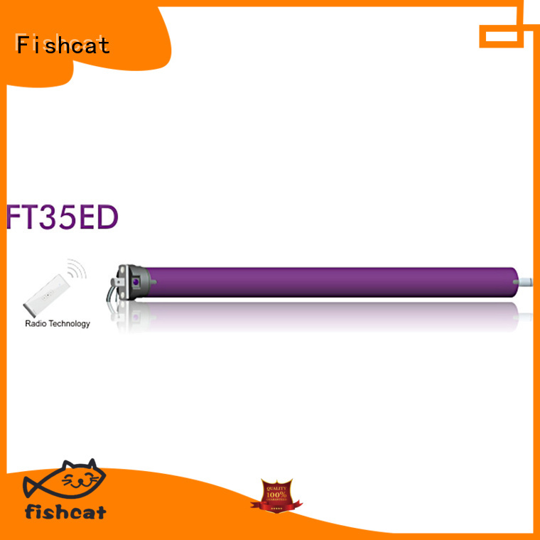 Fishcat electric motor for roller blinds satisfying for projector screen
