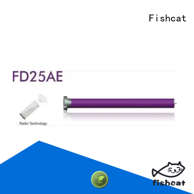 Fishcat tubular motor design satisfying for roller blinds