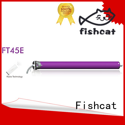 Fishcat tubular motor for projection screen optimal for awning