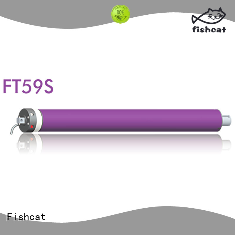 Fishcat tubular electric motor satisfying for roller blinds