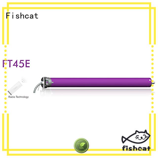 Fishcat tubular motor remote control widely used for clothes pole