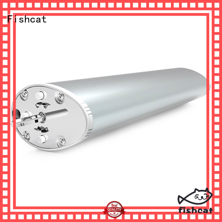 Fishcat intelligent motor curtain ideal for having restful sleep