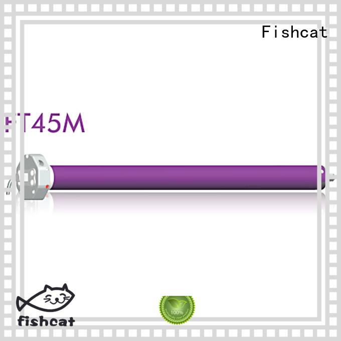 Fishcat advanced technology motor tubular optimal for roller blinds