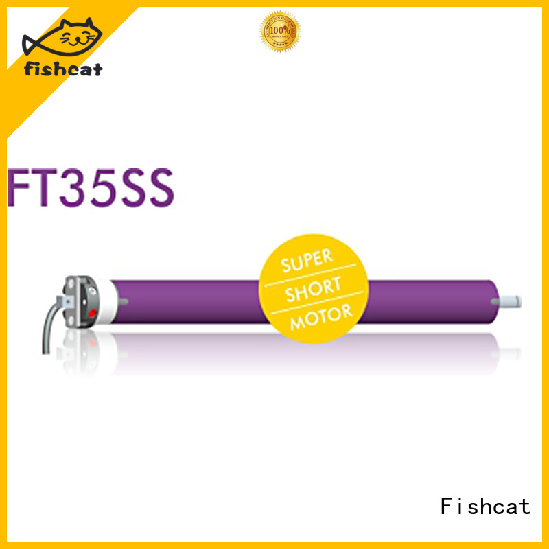 Fishcat roller shutter tube motor widely applied for projector screen